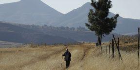 Le village de Ha Mampho au Lesotho.