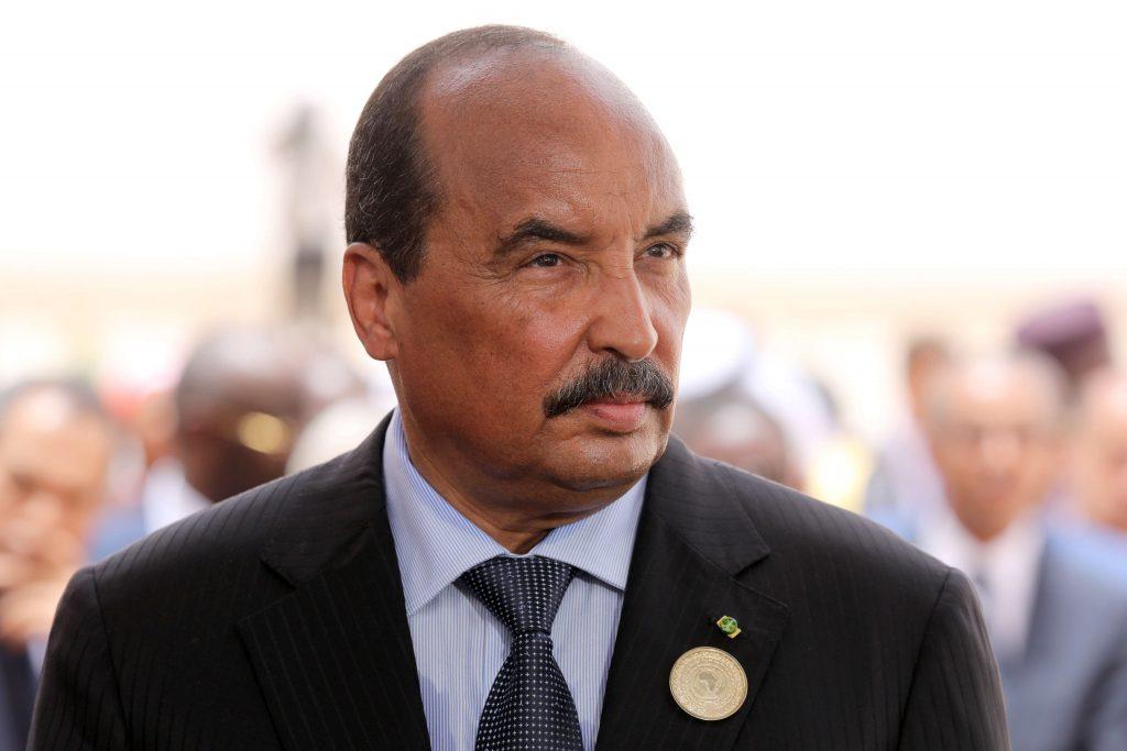 Le président mauritanien Mohamed Ould Abdelaziz à Nouakchott, le 2 juillet 2018.