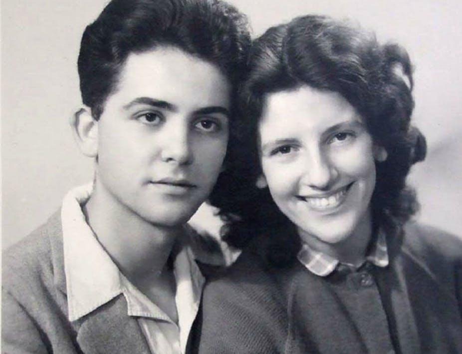 Maurice Audin, ici avec sa compagne, est mort durant la guerre d'Algérie le 11 juin 1957.