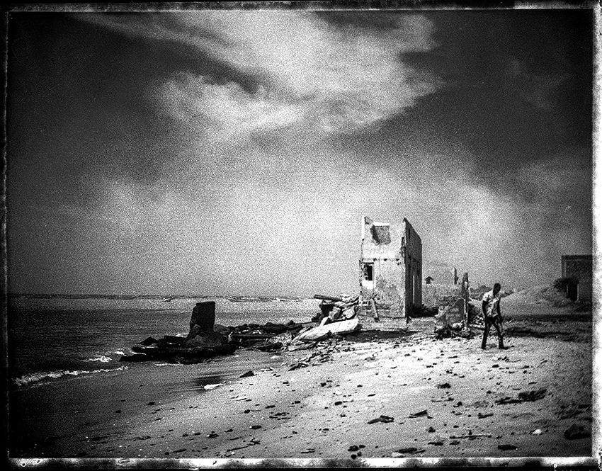 Au sud de Bargny, au Sénégal, Miniam et Barny Guedj sont les deux quartiers les plus exposés à l'érosion côtière.