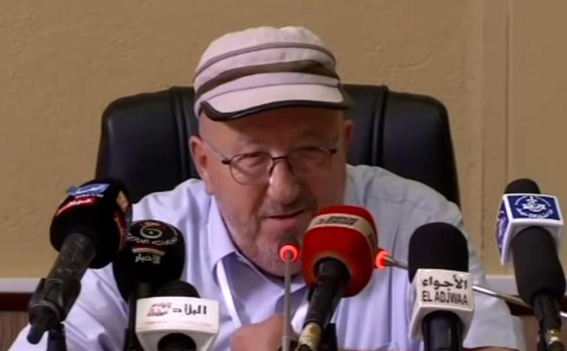 Abdelmadjid Sidi Saïd, ancien patron de l'UGTA, le 16 septembre 2018.