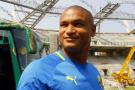 Daniel Cousin lors dela CAN 2012 au Gabon.