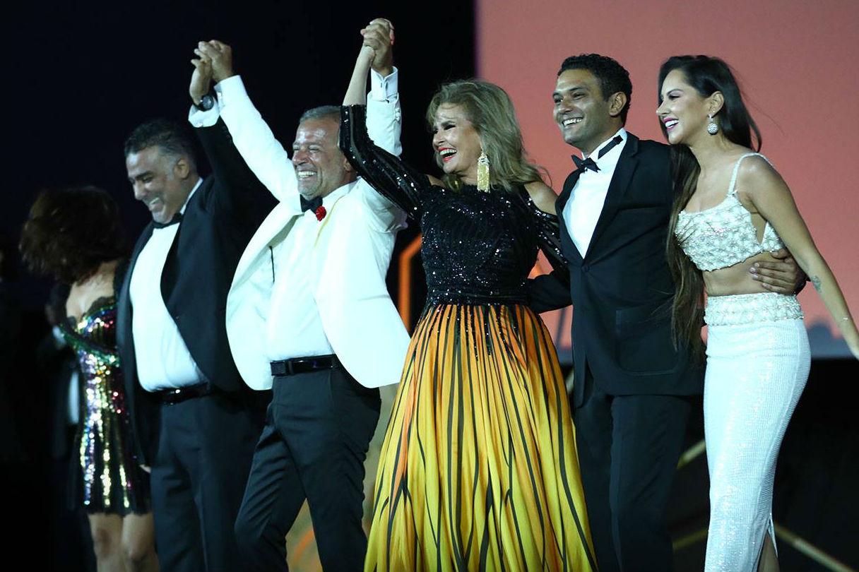 Lors de la cérémonie d'ouverture du festival d'El Gouna, en Égypte, le 22 septembre 2018.