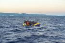 Une embarcation de migrants dans la mer entre le Maroc et l'Espagne (photo d'illustration).