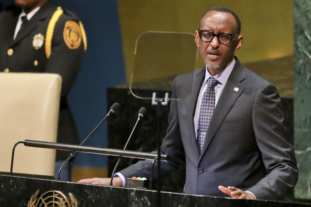 Paul Kagame à la tribune des Nations unies, le 25 septembre 2018.