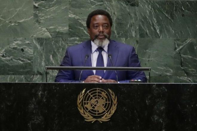 """RDC : à la tribune de l'ONU, Kabila réclame le """" début effectif """" d'un retrait des Casques bleus"""