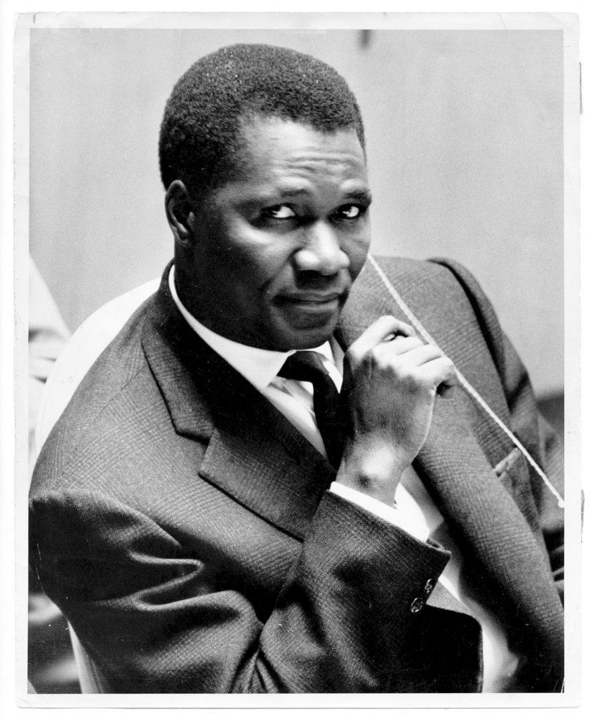 Ahmed Sékou Touré, aux Nations unies, à New York, en octobre1960.