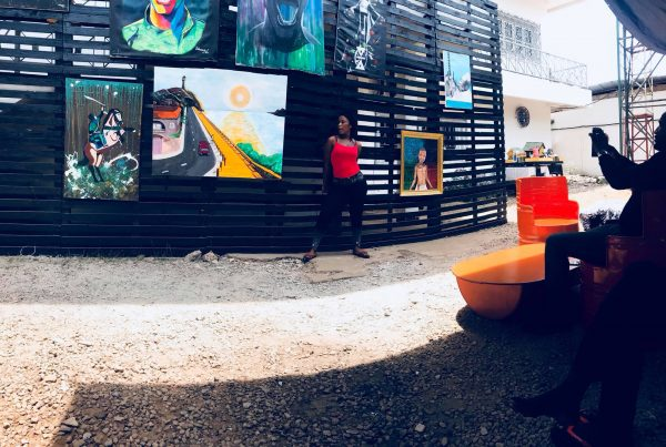Exposition aux Studios Kirah, incubateur culturel, mai 2018.