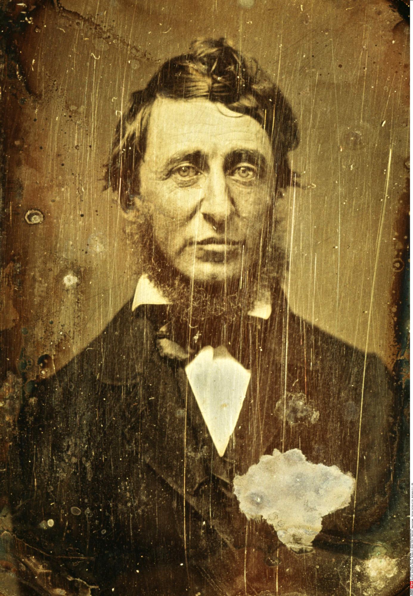 L'Américain Henry David Thoreau, proto-écologiste et maître à penser de Sansal dans son dernier roman.