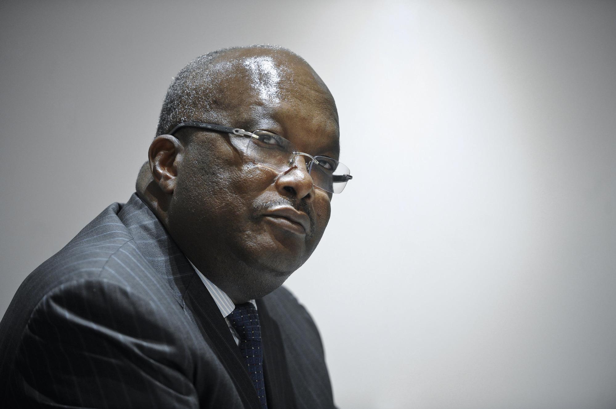 Roch Marc Christian Kaboré.