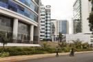 Quartier d'affaires de Kigali (Rwanda), en mai 2017.
