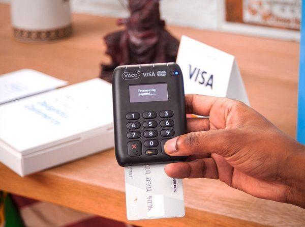 Yoco card payment machine