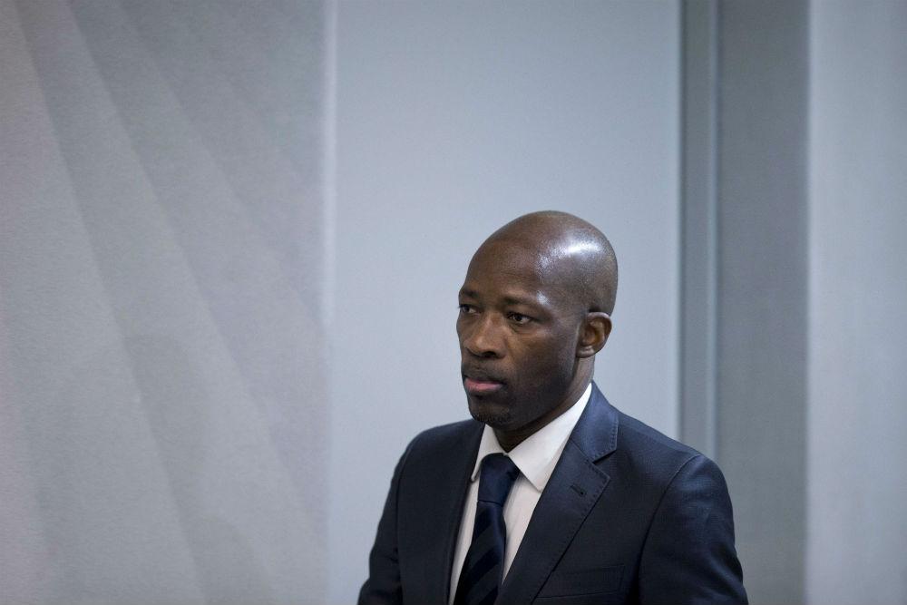 Charles Blé Goudé à la CPI, le 28 janvier 2016.