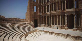 L'amphithéâtre romain de Sabratha, en 2011.