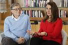 Bill et Melinda Gates, en février 2018 à Kirkland, Wahington, aux États-Unis.