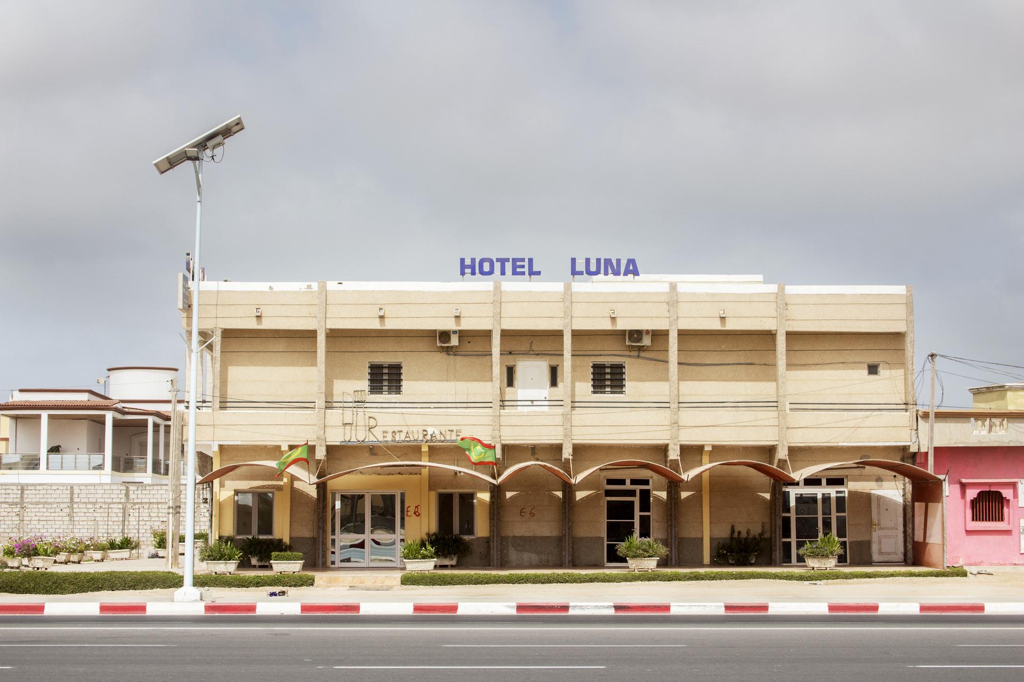 L'hôtel Luna, à Nouakchott.