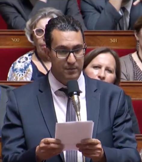 Le député franco-marocain M'jid El Guerrab, élu au titre de la 9éme circonscription des Français de l'étranger.