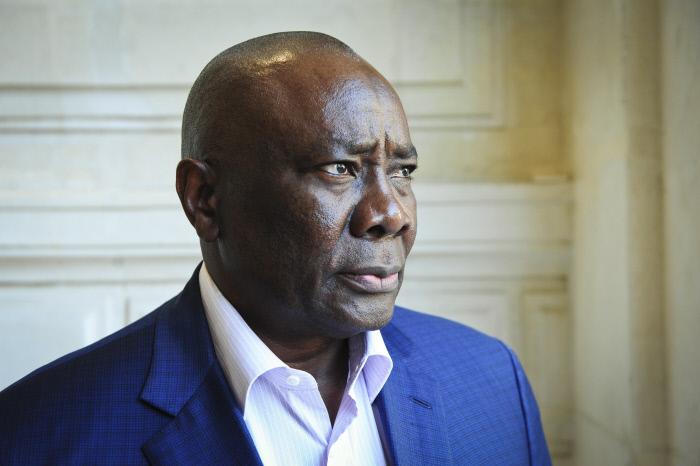 Karim Meckassoua, ex-président de l'Assemblée nationale centrafricaine.