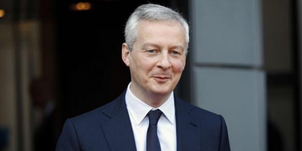 Bruno Le Maire, ministre français de l'Économie, des Finances et de la Relance..