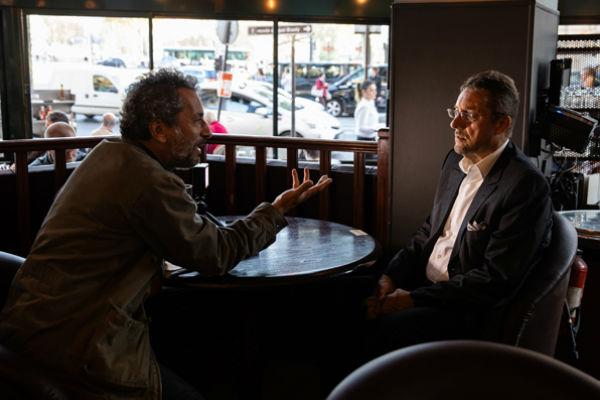 Bernard Bajolet, lors de l'Interview pour Jeune Afrique, à Paris en octobre 2018.