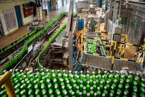 La consommation annuelle de bière par habitant est en moyenne de 13 litres en Afrique,contre 65 litres en Europe. Ici, un événement organisé par la marque à Lagos.