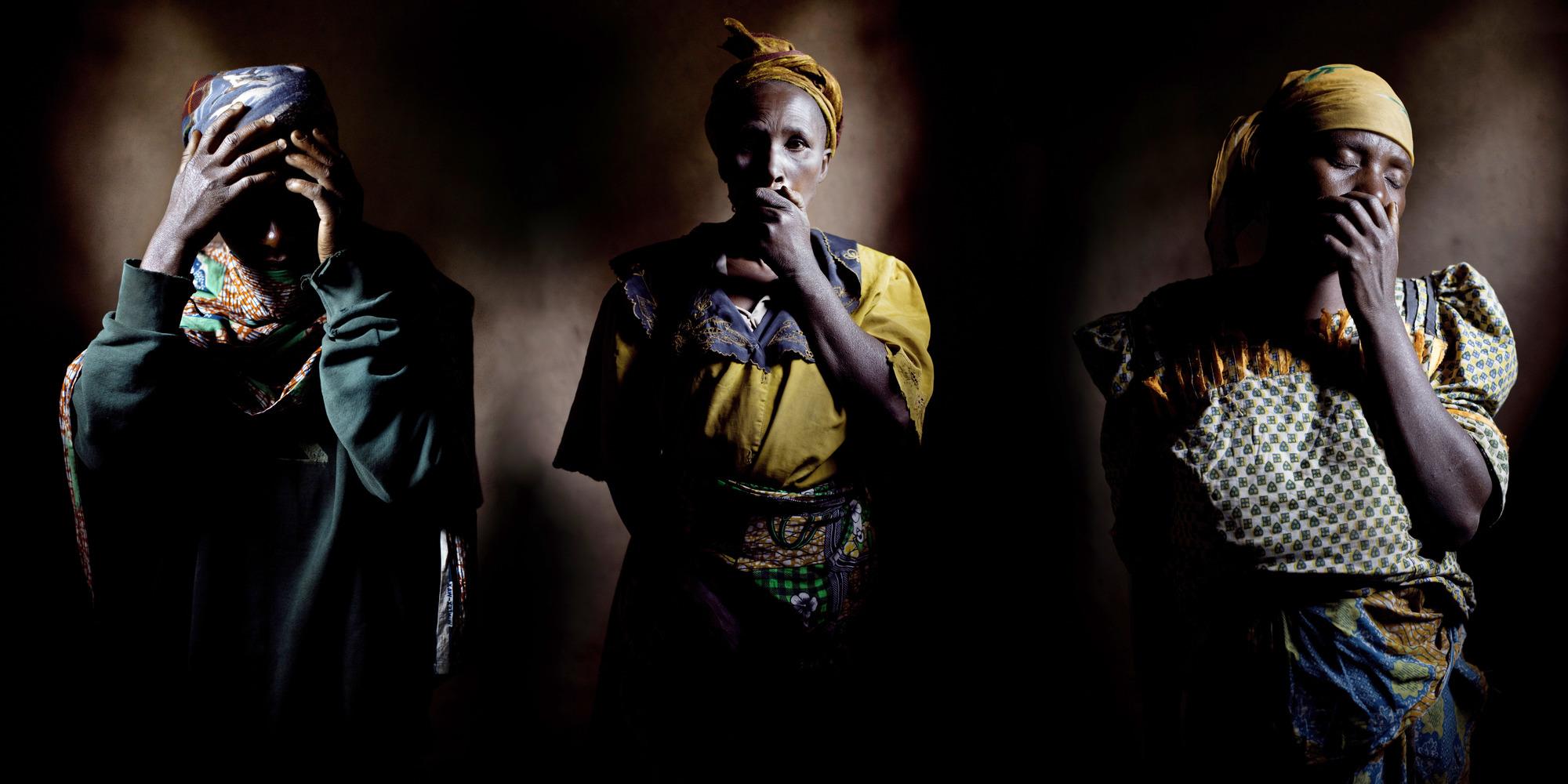 Fin 2011, Kwinanika Ngerina, Abiya Gil et Nakambululo Torina ont été violées par plusieurs miliciens. «Il faut rendre justice à ces femmes», insiste Mukwege.