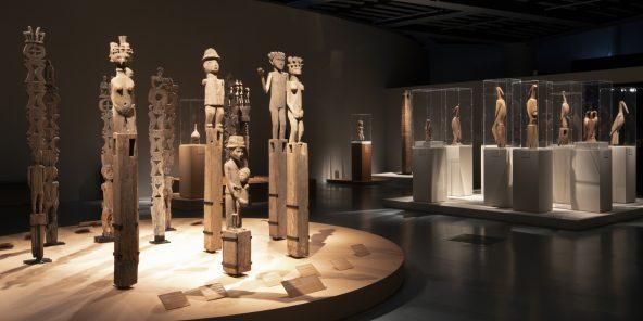 Musée du quai Branly - Jacques Chirac. Vue de l'exposition