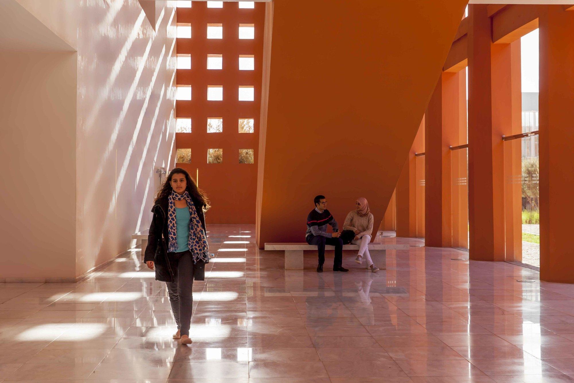 Université Polytechnique Mohammed VI, à Ben Guerir.