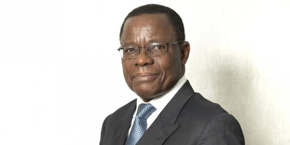 Maurice Kamto du Mouvement pour la renaissance du Cameroun (MRC).