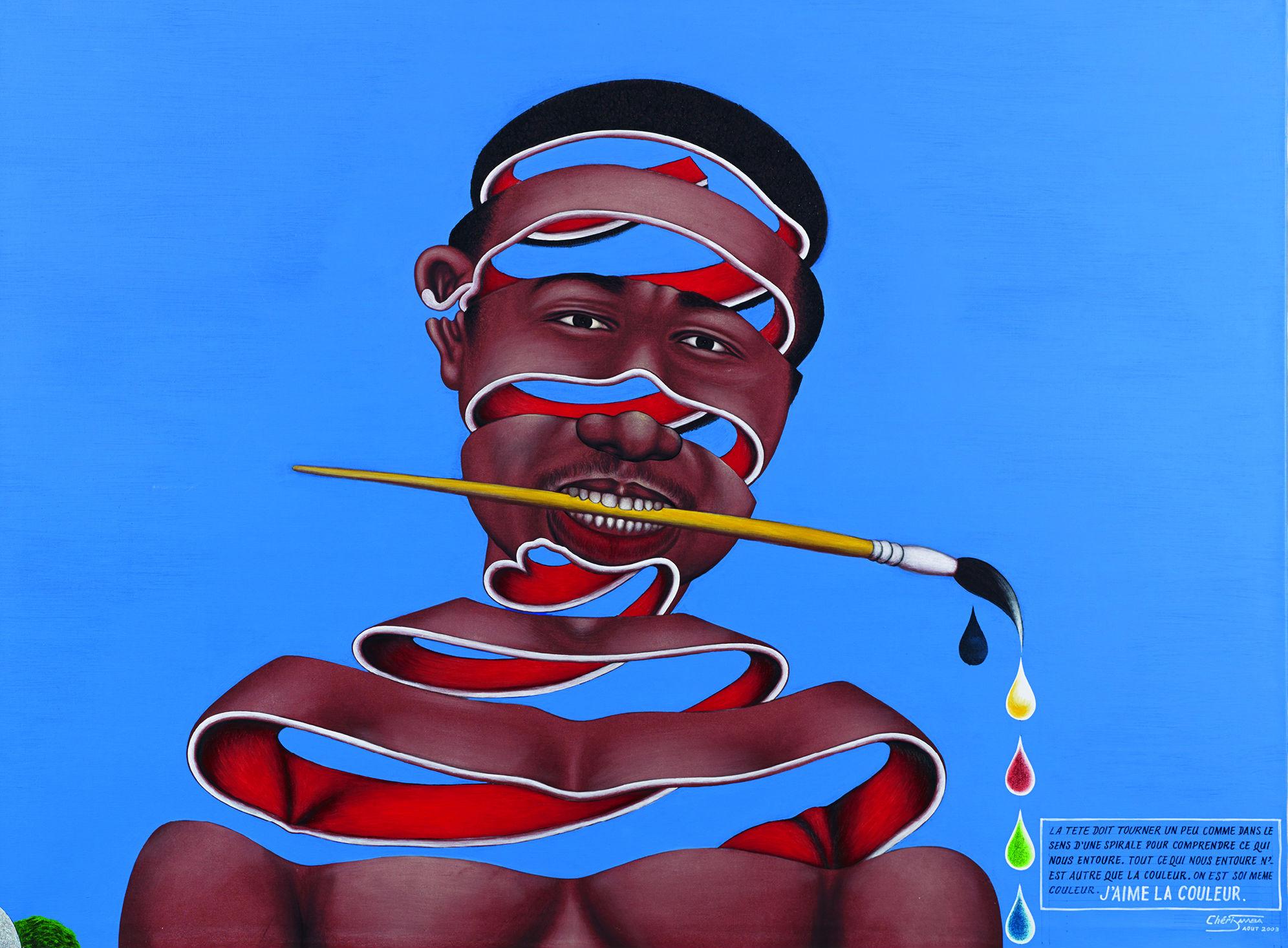 J'aime la couleur, de Cheri Samba (2003)