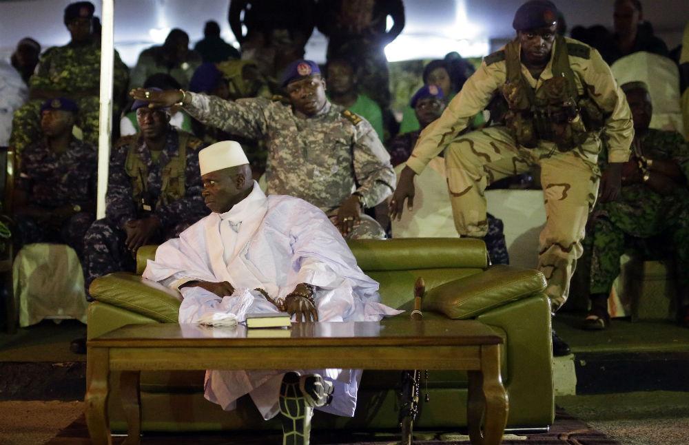 Yahya Jammeh, en novembre 2016.