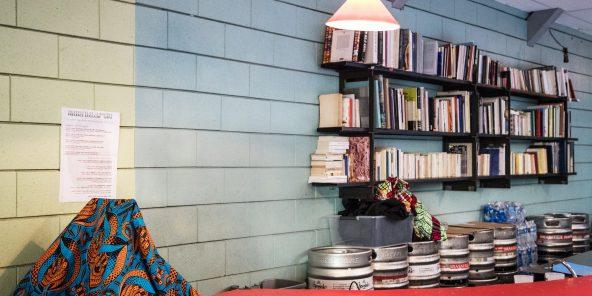 Kader Attia, artiste a lancé depuis deux ans le lieu LA COLONIE (barré) dans le 10ème arrondissement de Paris. le 15 octobre 2018. © Camille Millerand pour JA