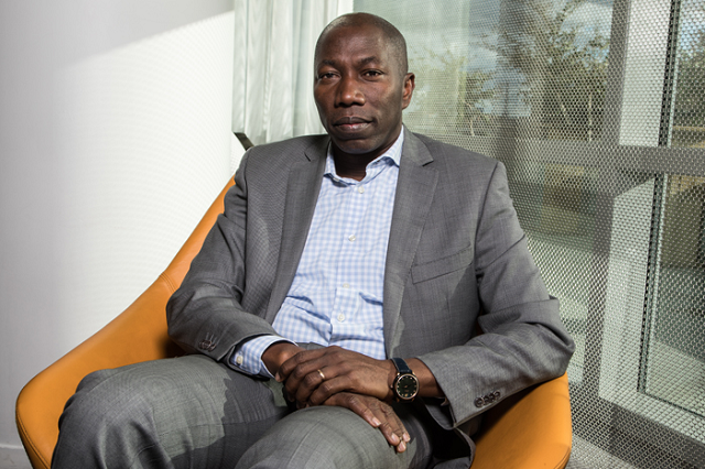 L'ancien Premier ministre bissau-guinéen Domingos Simões Pereira, le 30 octobre 2018 à Paris