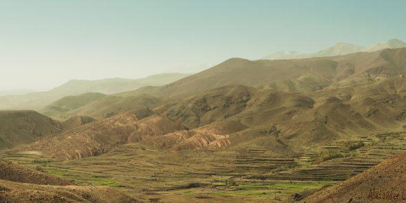 Des terres marocaines.