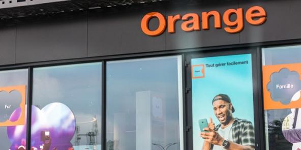 Boutique Orange (image d'illustration)