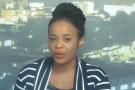 La présentatrice d'Equinoxe TV Mimi Mefo.