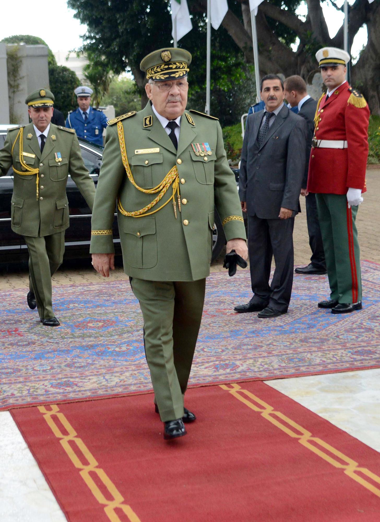 Ahmed Gaïd Salah, vice-ministre de la Défense et chef d'état-major