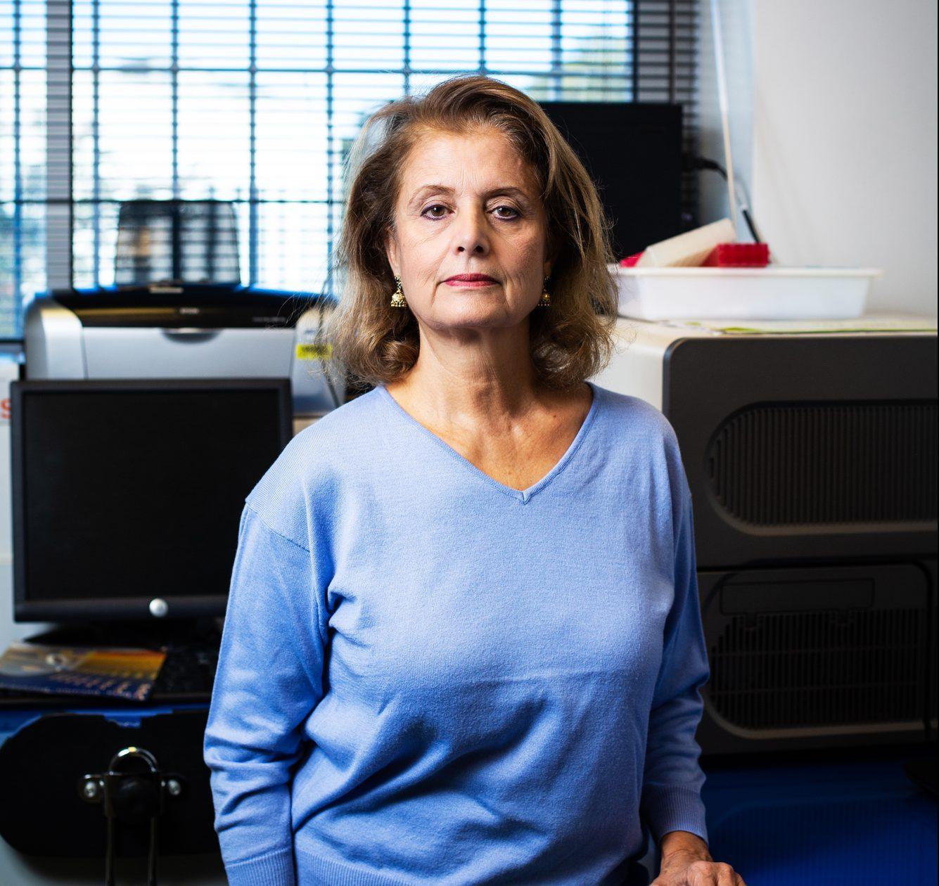 Le professeur Habiba Bouhamed Chaabouni (généticienne ), à Montpellier,le 6 novembre 2018.