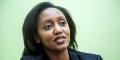 Yvonne Makolo est la directrice générale de la compagnie Rwandair depuis avril 2018.