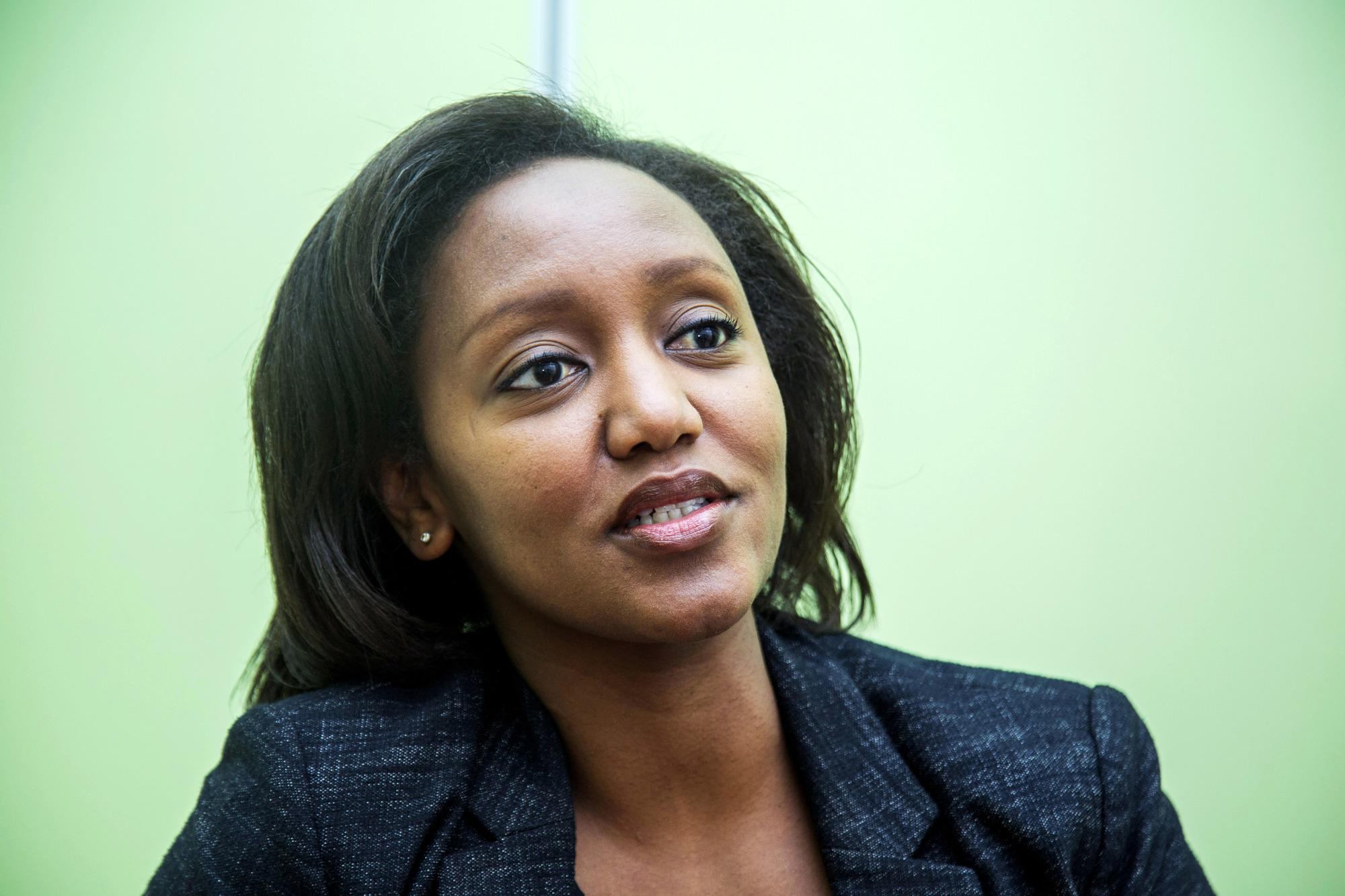 Yvonne Makolo est la présidente de la compagnie Rwandair