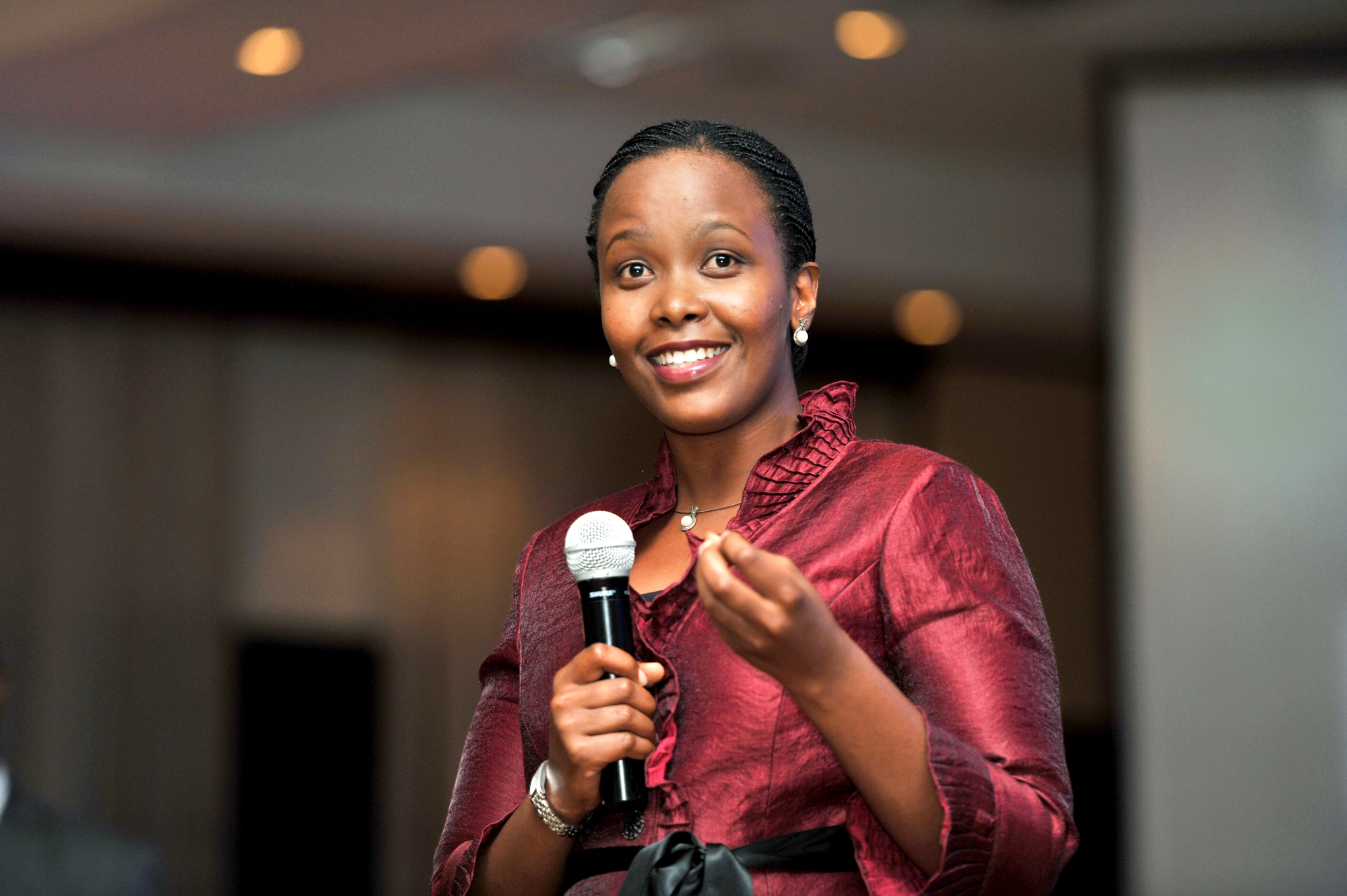 Clare Akamanzi est à la tête du Rwanda Development Board (RDB)