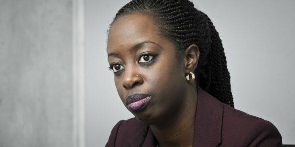 Kamissa Camara, ministre malienne de l'Economie numérique et de la Prospective, le 8 novembre 2018 à Paris.