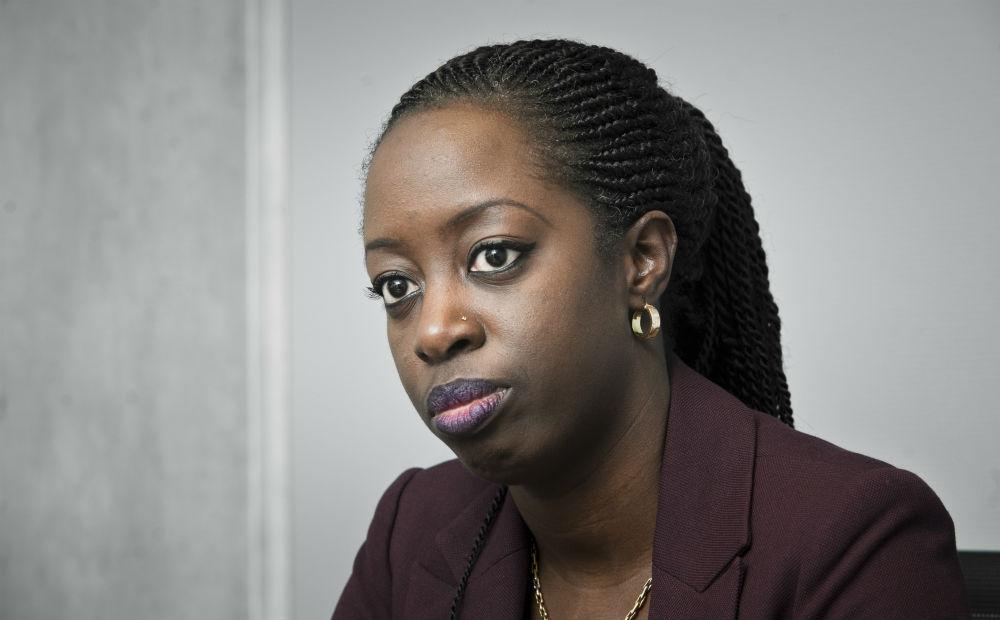 Kamissa Camara, ex-ministre malienne des Affaires étrangères, le 8 novembre 2018 à Paris.