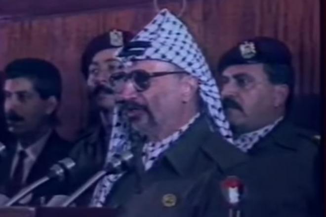 15 novembre 1988 : Yasser Arafat annonçait la création de l'État palestinien