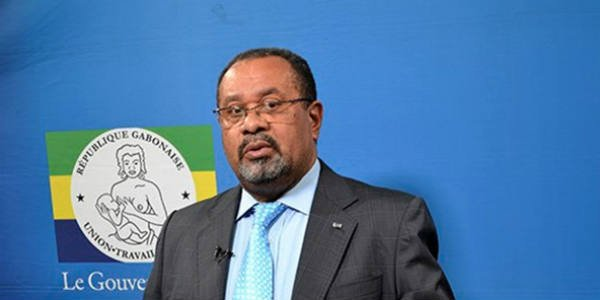 Guy Bertrand Mapangou, ministre gabonais de la Communication et porte-parole du gouvernement.