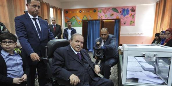 Abdelaziz Bouteflika en mai 2017.