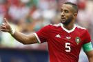 Le capitaine des Lions de l'Atlas, le 20 juin après le match de Coupe du monde face au Portugal (0-1).