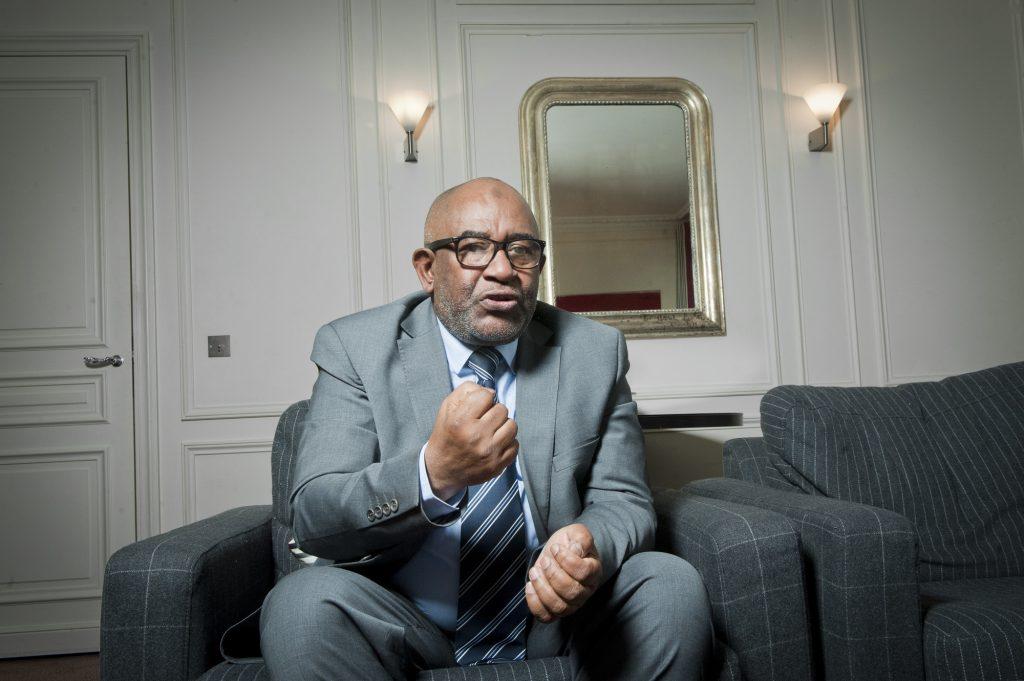 Azali Assoumani, président de l'Union des Comores.