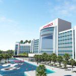 Aperçu de l'hôtel Mövenpick de 462 chambres prévu à Diamniadio, au Sénégal.