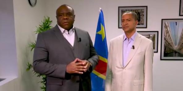 Jean-Pierre Bemba et Moïse Katumbi, deux leaders de l'opposition en RDC.